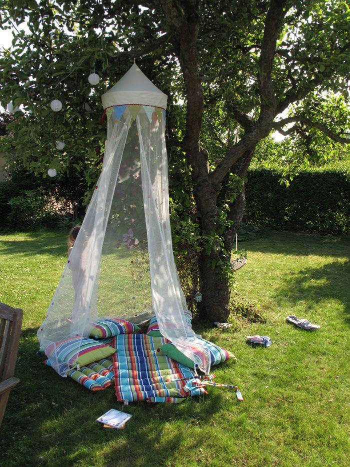 Fairy tent in garden & Fairy tent in garden   Outdoors   Pinterest   Tents Fairy and Gardens
