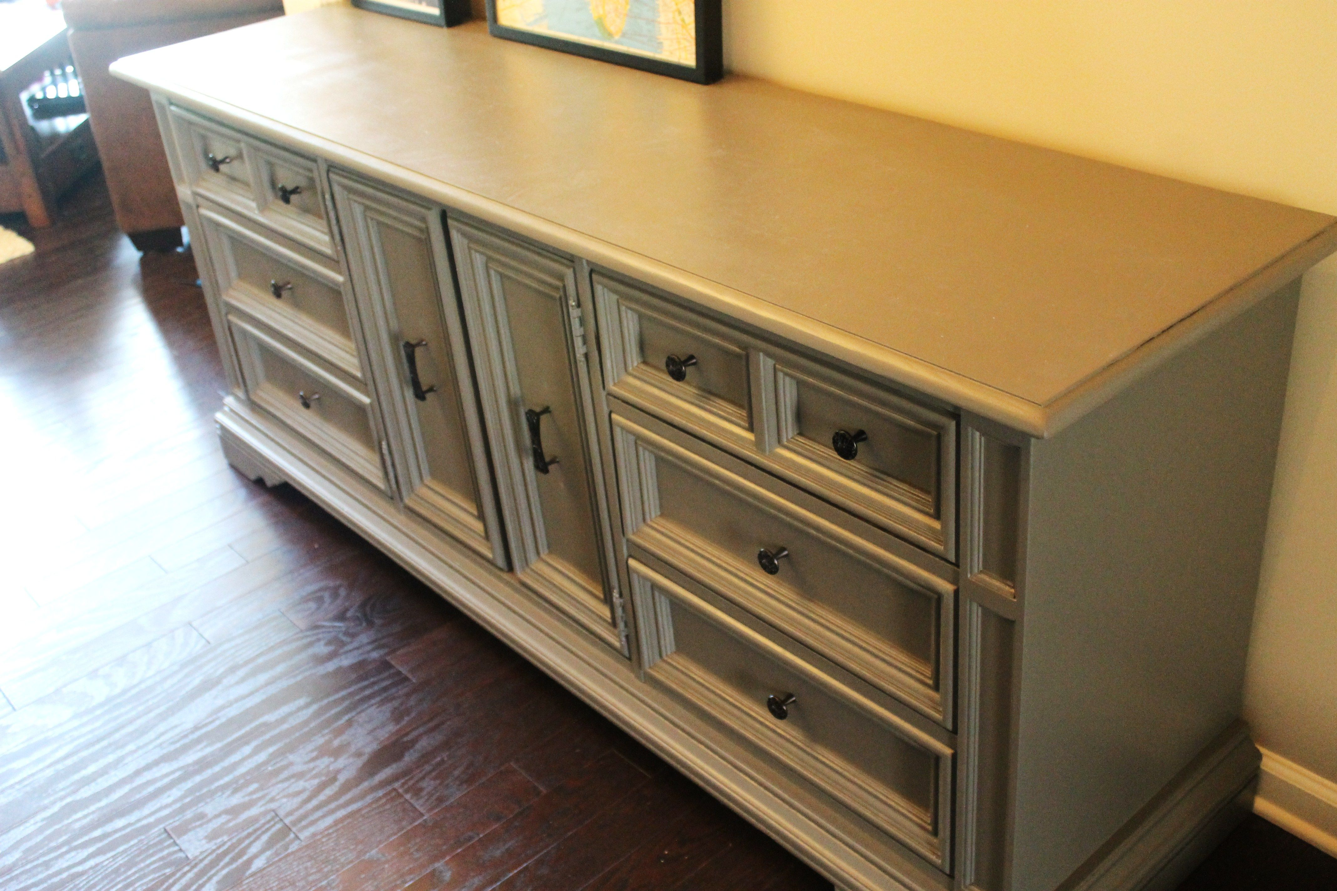 how to refinish a dresser without stripping