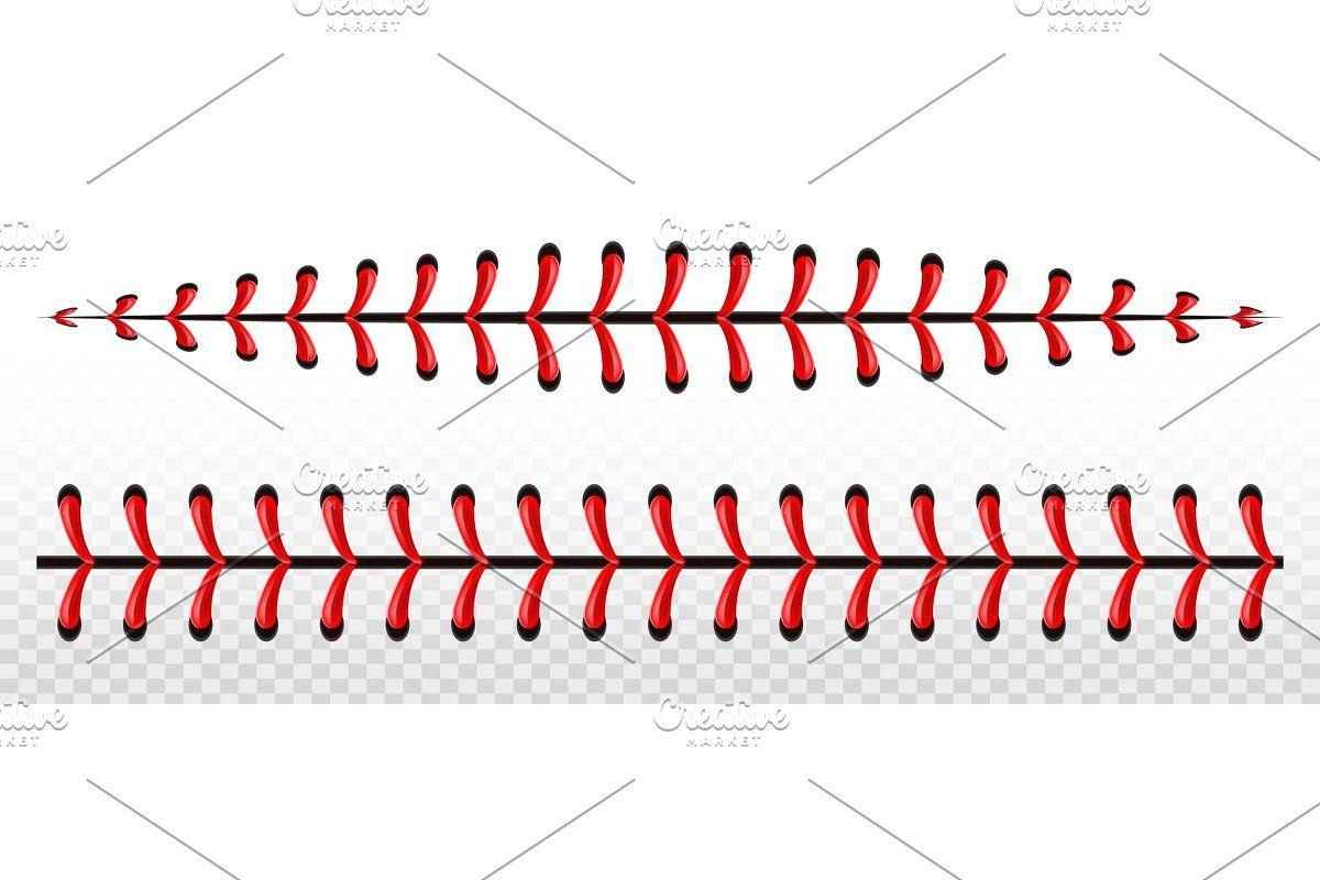 Baseball Ball Stitche Red Lace Seam Baseball Balls Red Lace Seam