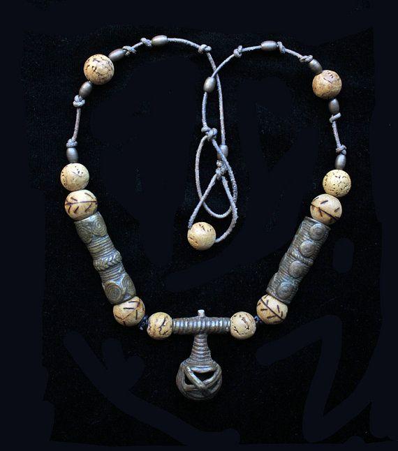 Tribal Ethnic: Antique Yoruba Bronze Bell from by BijouxWalla
