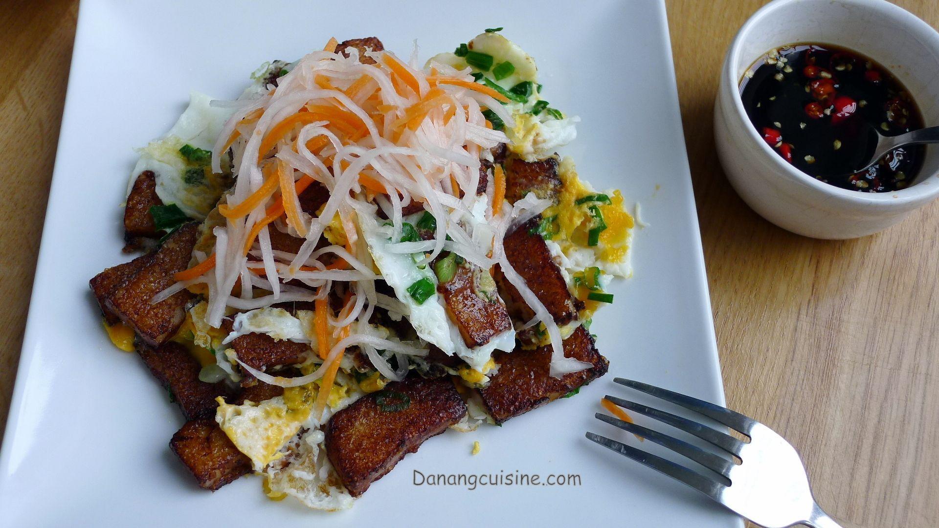 Recipe: Fried rice flour cake - Bột chiên - Danang Cuisine ...