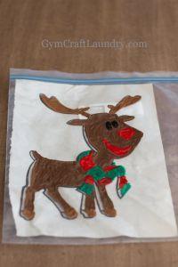 DIY Window Clings: Christmas Clings