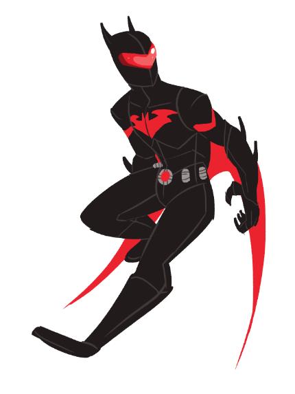 Calvinloveinternet Batman Beyond Redesign Was In An Art Rut So I Batman Redesign Batman Beyond Batman Beyond Suit