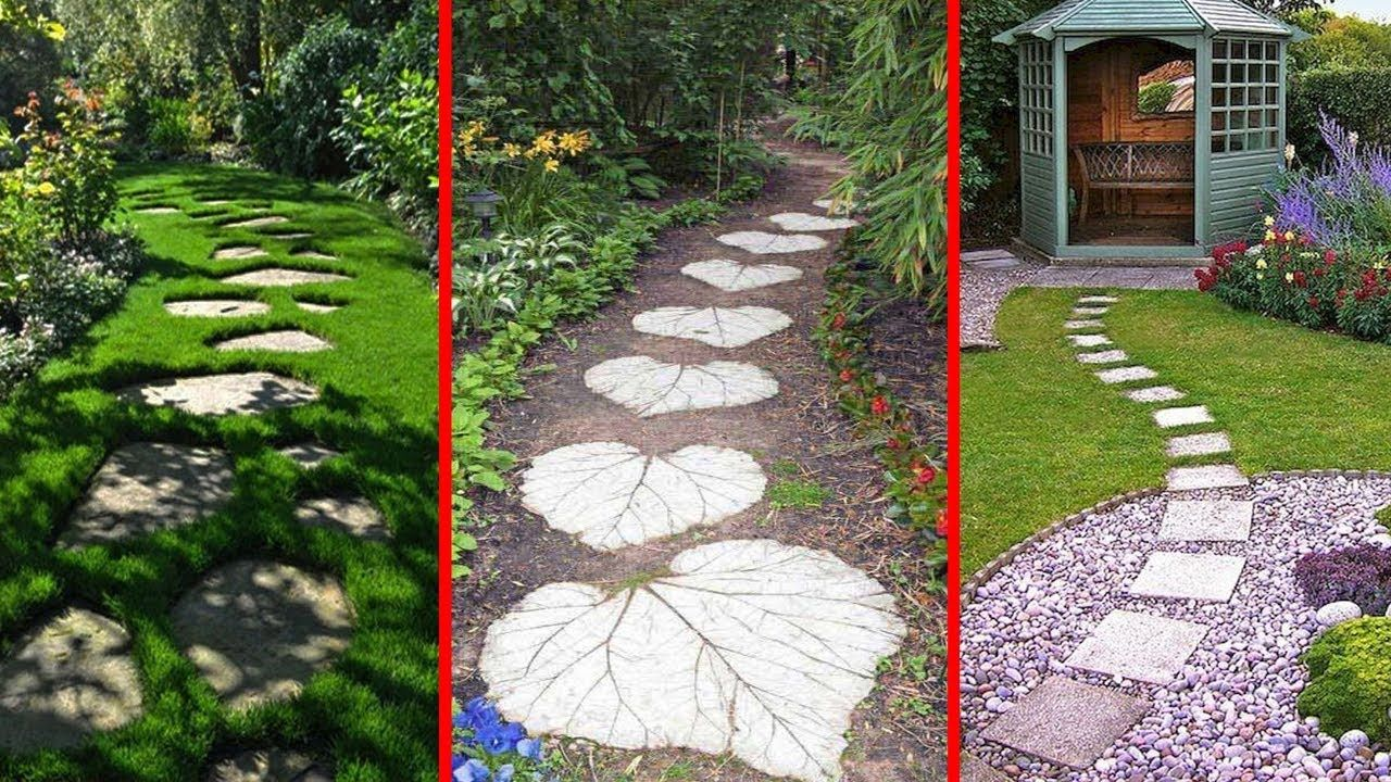 26 Path Garden Design Ideas  DIY Footpath Garden and House Part.26