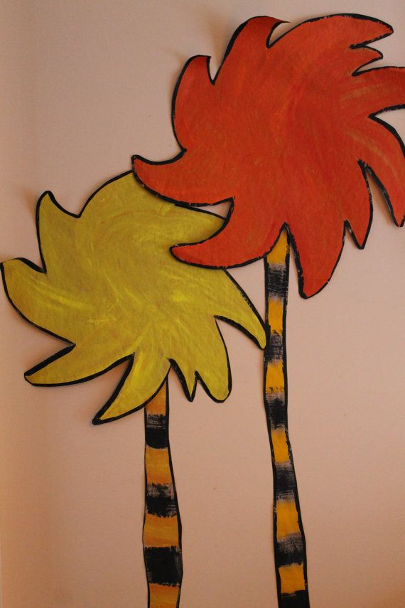 Classroom Decor Truffula Trees Must Make For Taking Care Of The