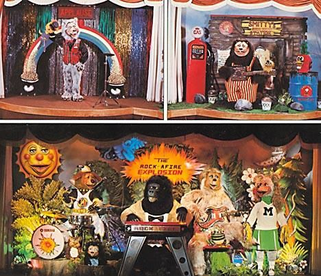 chuck e cheese playground showbiz pizza billy bob and the gang are now at odyssey fun world