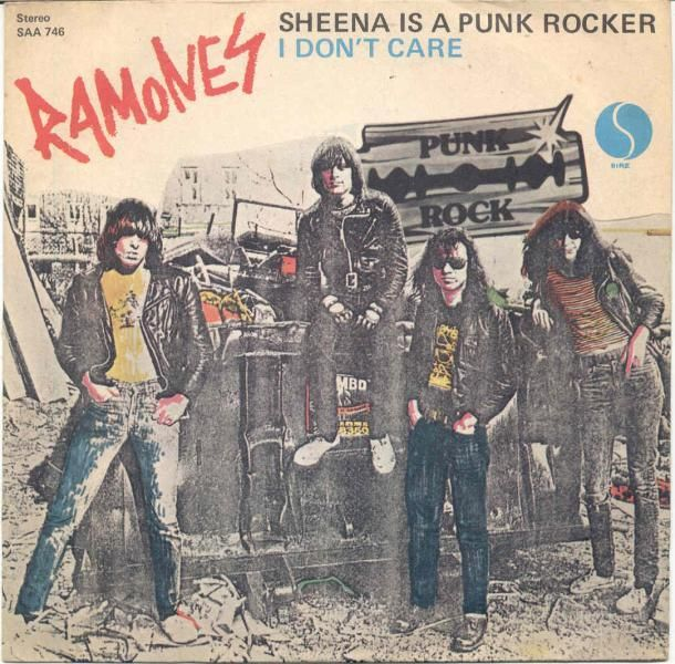The Ramones Sheena Is A Punk Rocker 1977 Sire Records