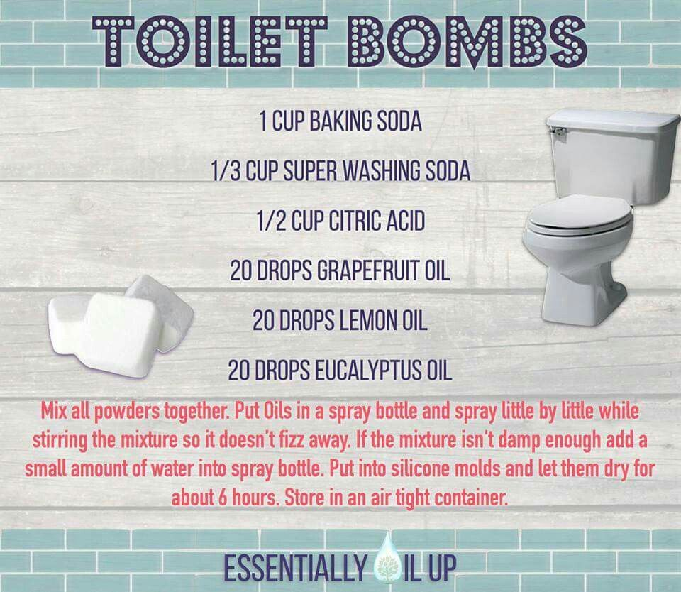Toilet Bombs Essential Oils Cleaning Toilet Bombs Cleaning