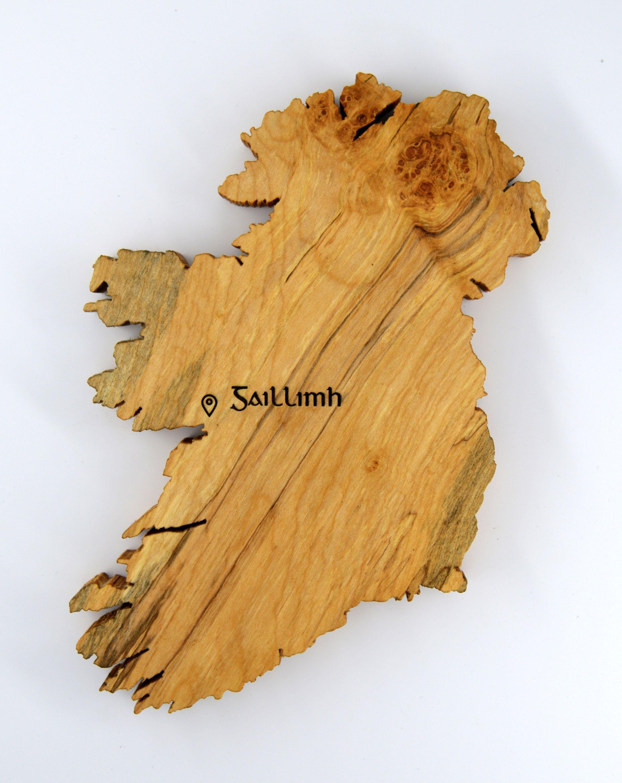 Map of Ireland, Personalized Irish Gift, Irish Heritage Gift