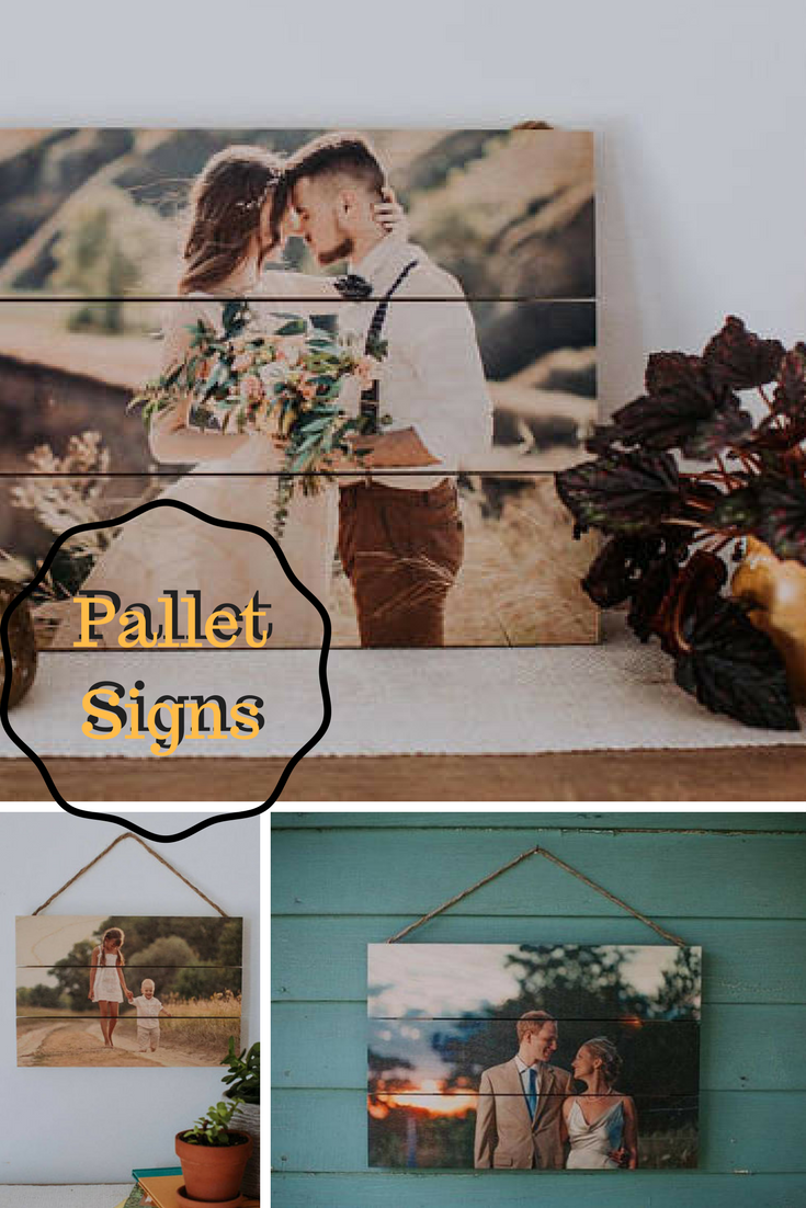 Pallet wedding decor ideas  Celebrate with a custom Pallet Sign Super cute idea celebrate