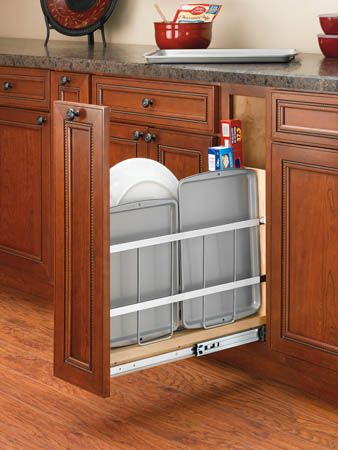 Kitchen Storage // Kitchen Cabinet Organizer on Tray Divider Foil ...