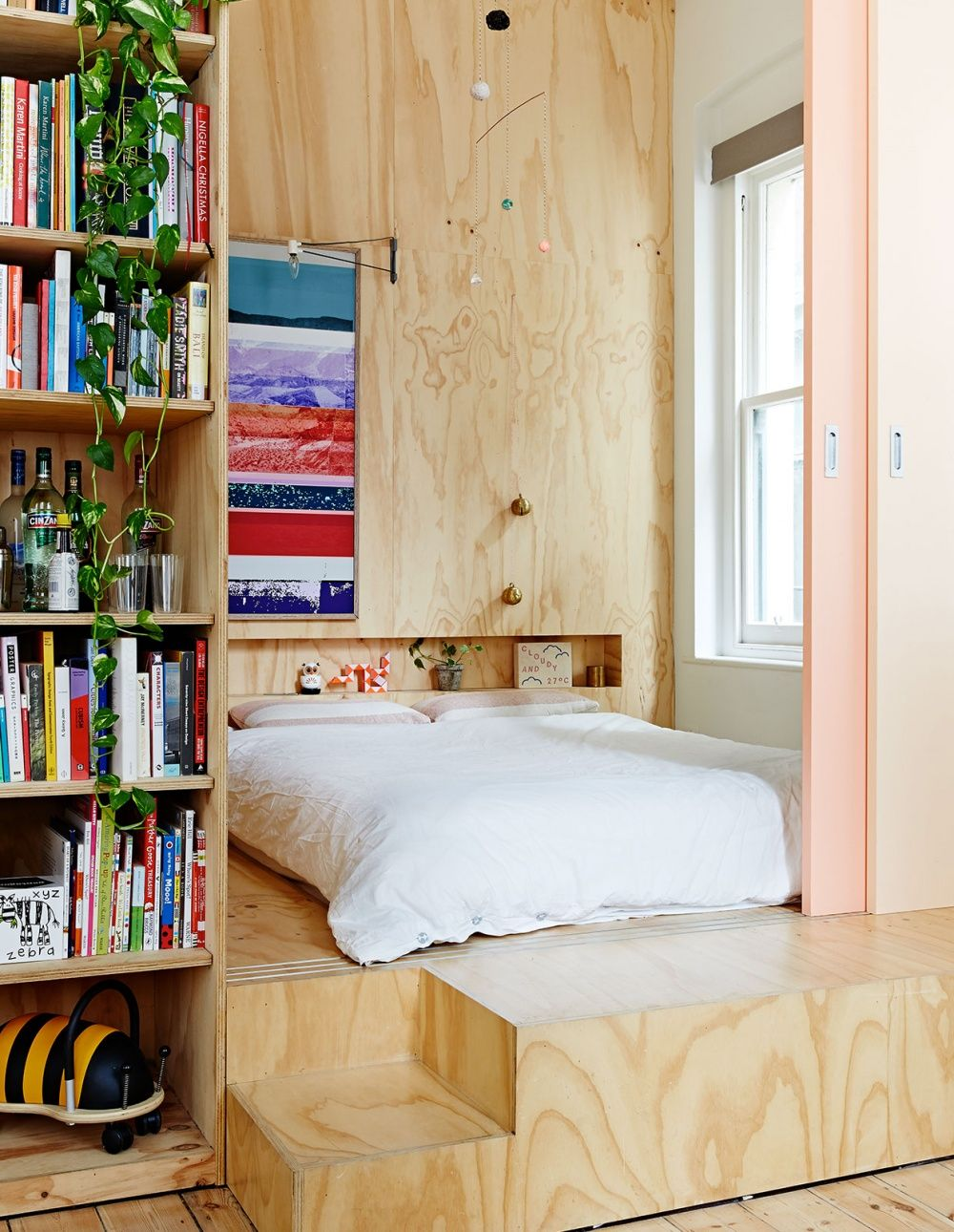 Loft style bedroom ideas  Solutions for Living Small from our Australian Homes Archive