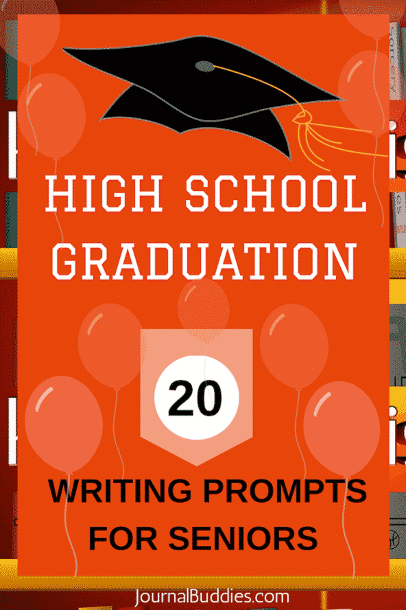 high school graduation writing prompts for seniors  classroom