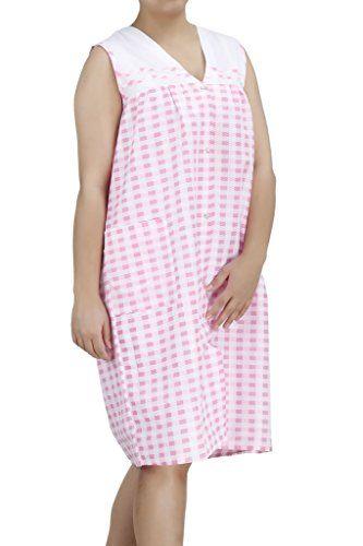 best selling EZI Women's Duster7 Sleeveless Cotton House Dress