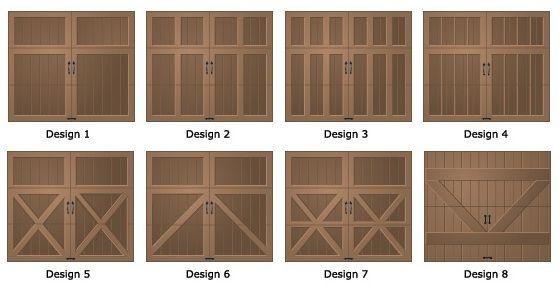 Wood Garage Door Types And Design