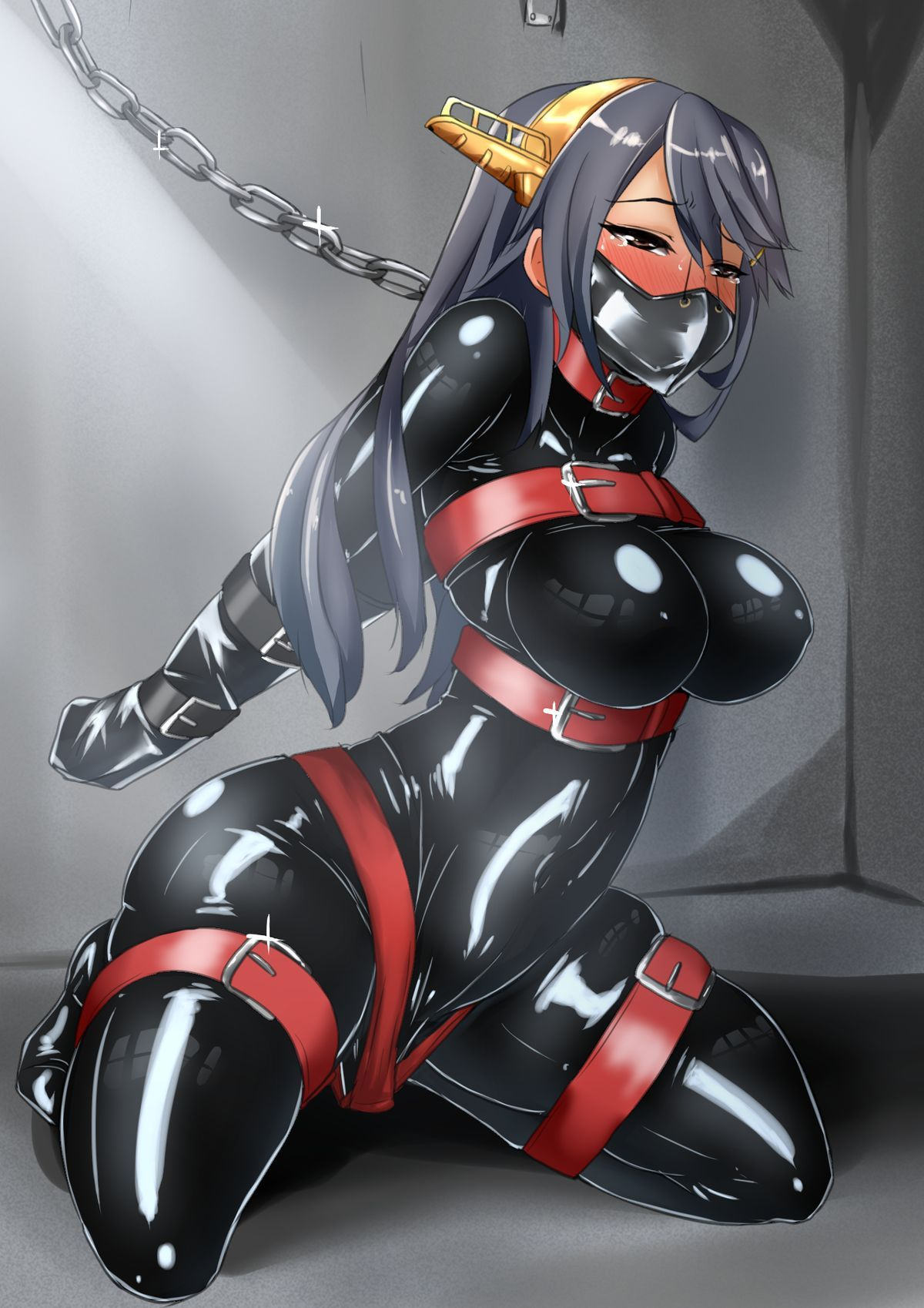 latex suit bondage