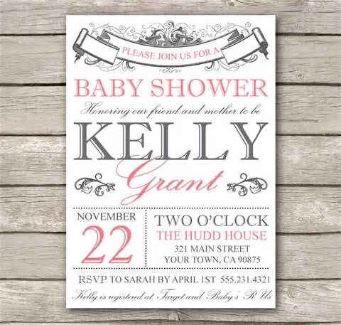 Wonderful Free Online Baby Shower Invitations Templates Comely Free