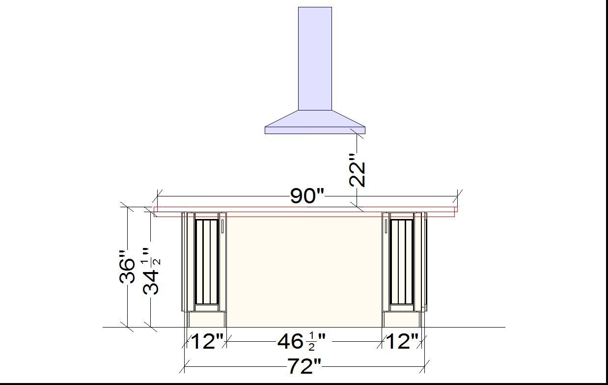 Standard dimensions in kitchen design home before after