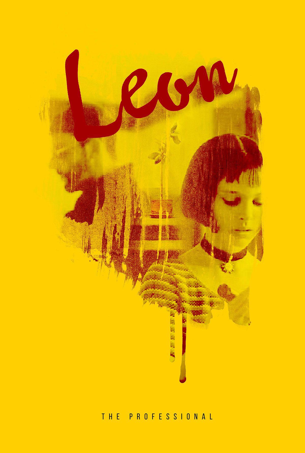 Leon  Poster 014 On Behance