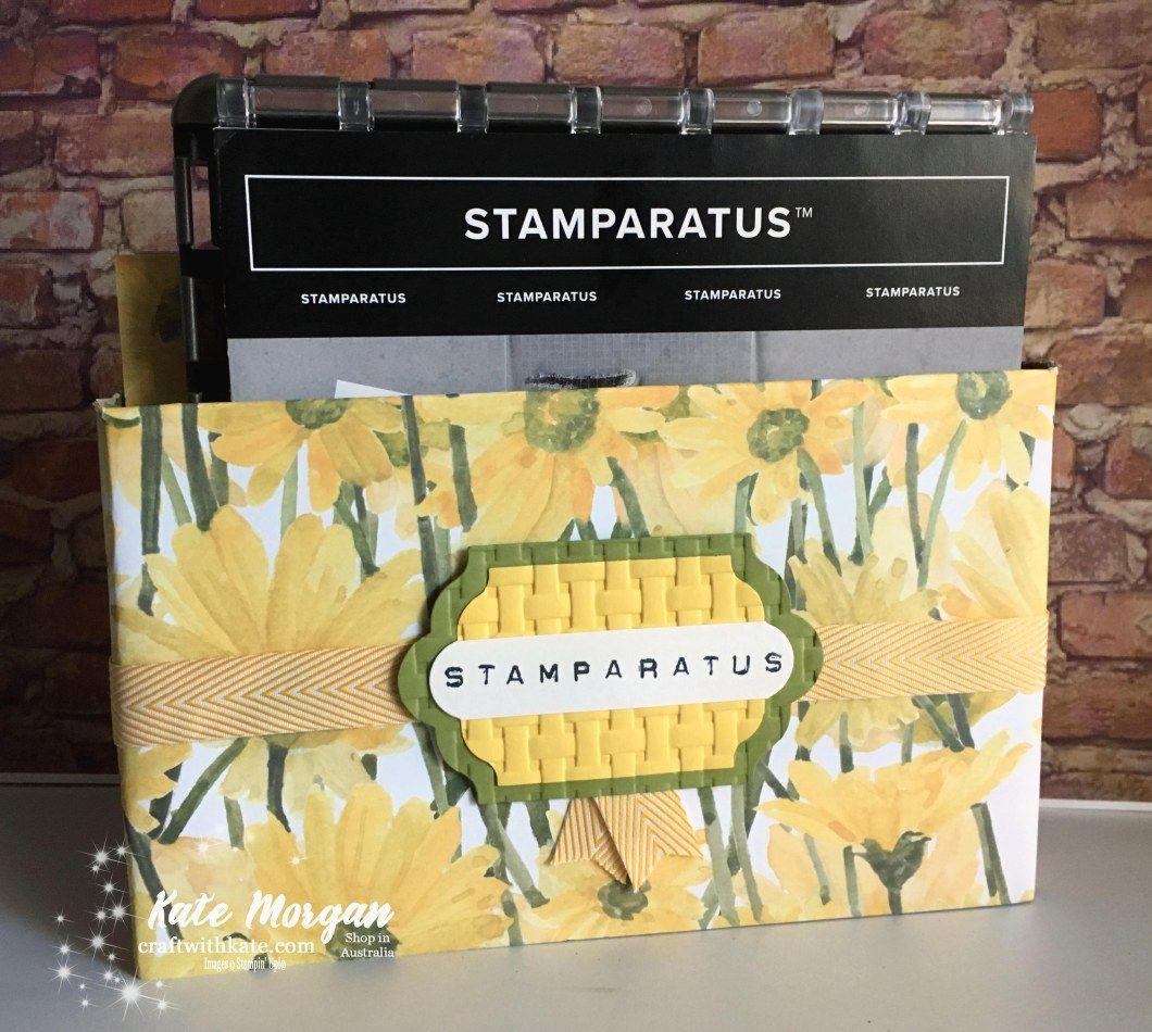 Stamparatus Storage For Your Craft Desk Craft Desk Crafts Storage