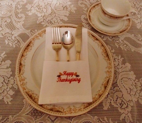 Simply Beautiful Napkins Embroidery Project by Ramona Baird