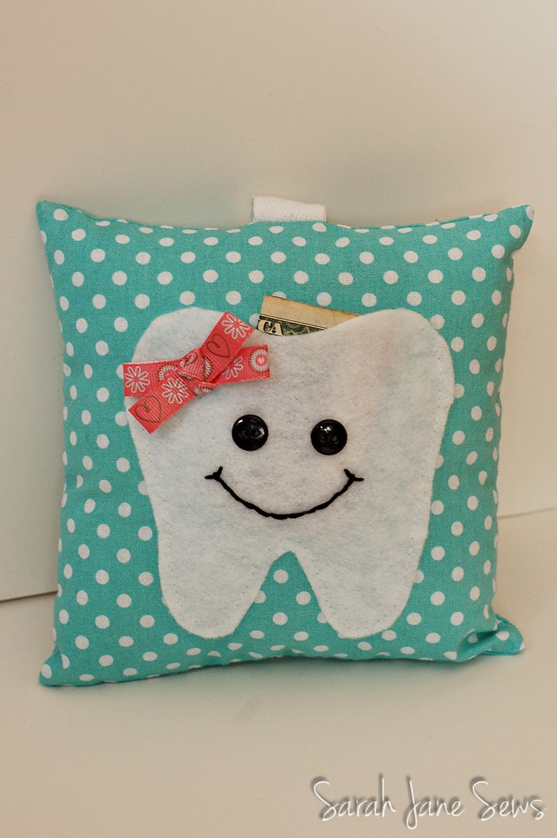 Sarah Jane Sews: Tooth Fairy Pillow #toothfairyideas