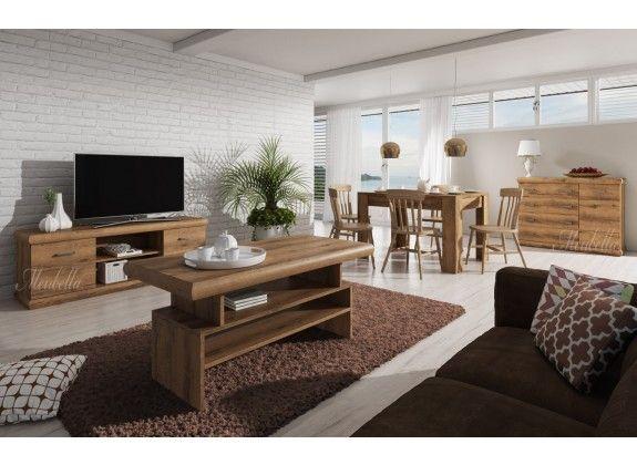 woonkamer crown is een prachtig landelijk vormgegeven set meubels