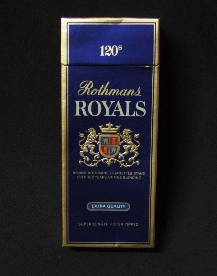 Rothman royals cigarettes price e cigs vs cigarettes