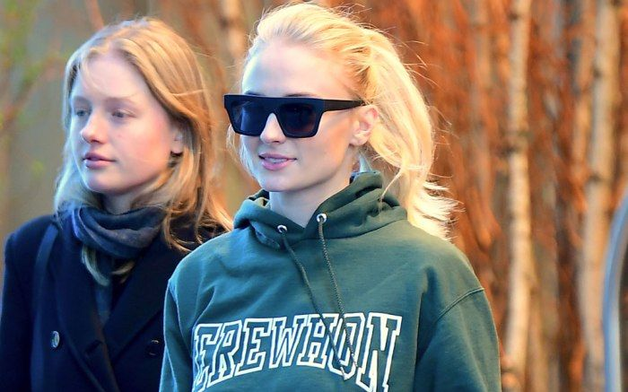 e0474a4b5776 Sophie Turner Takes a Casual Stroll in  2