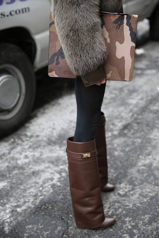 Givenchy  brown boots    b5baece6d