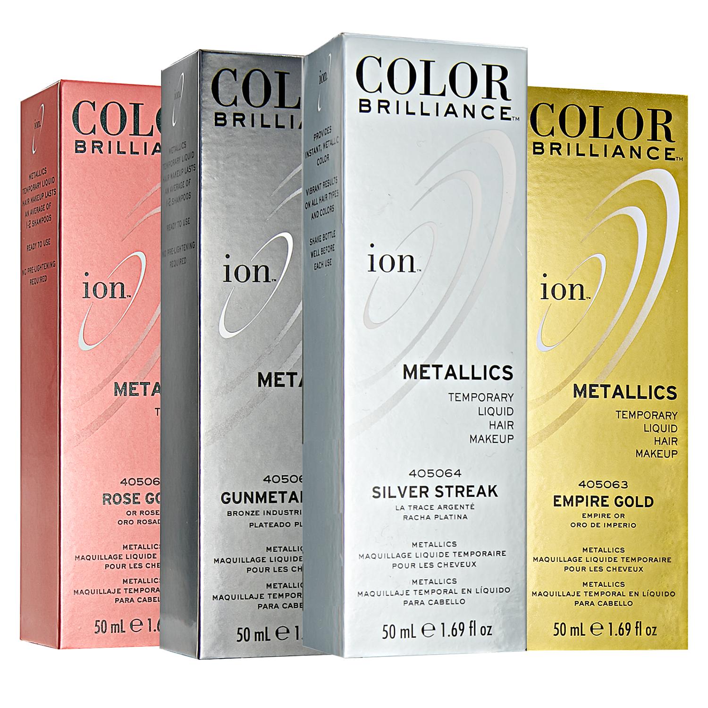 Ion Color Brilliance Metallics Temporary Liquid Hair