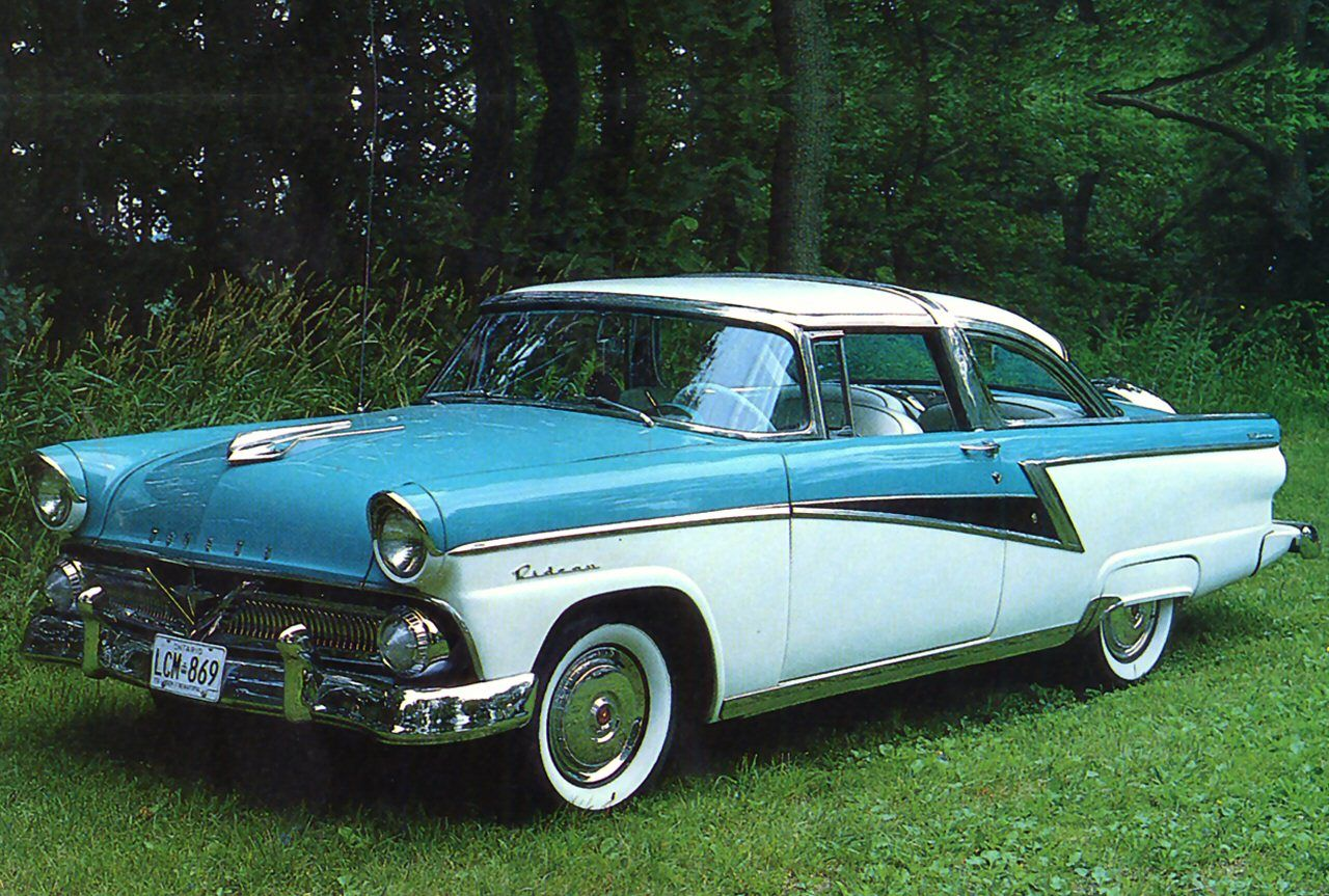 1955 meteor rideau crown victoria 2 door coupe antique for 1956 ford crown victoria 2 door coupe