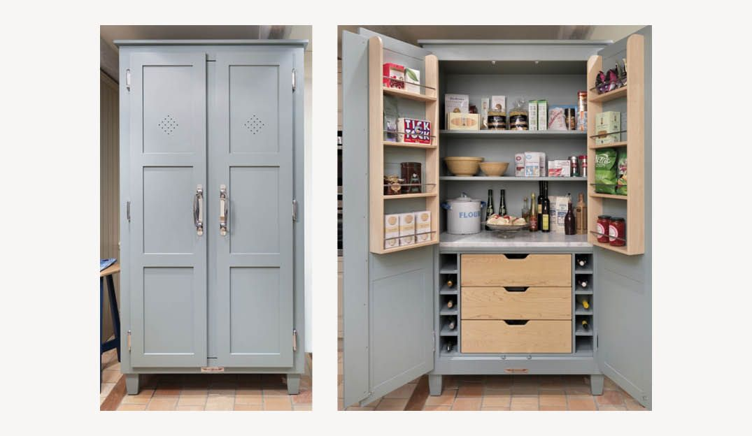John Lewis Of Hungerford Pantry Diy Pantry Cabinet Kitchen Pantry Cabinet Freestanding Pantry Design