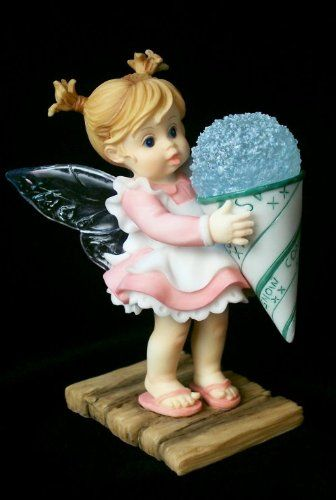 Merveilleux SNOW CONE FAiRiE ___From Series Twenty Two Of The My LiTTLe KiTcHeN FAiRiES  Collection From Enesco