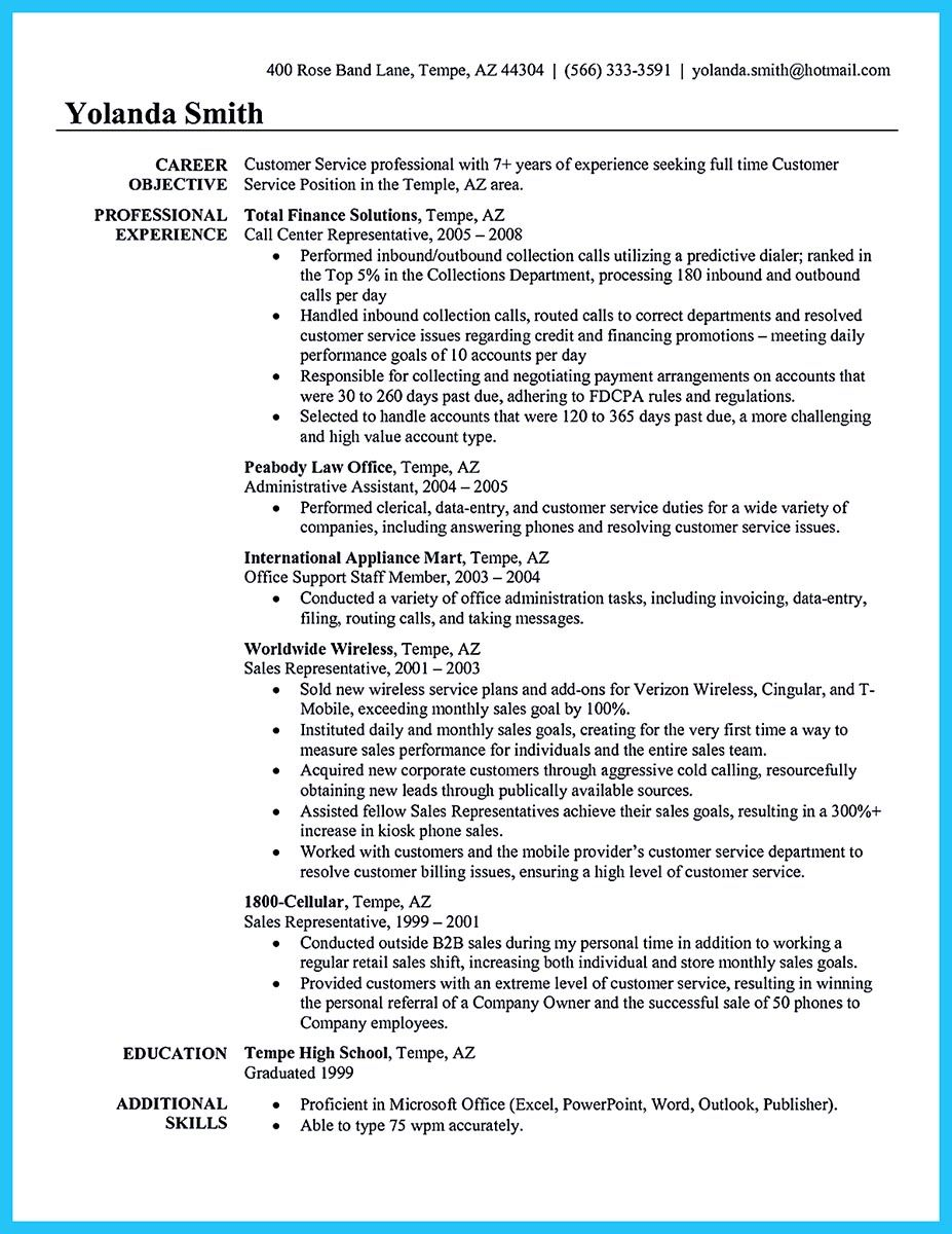 What will you do to make the best call center resume? So