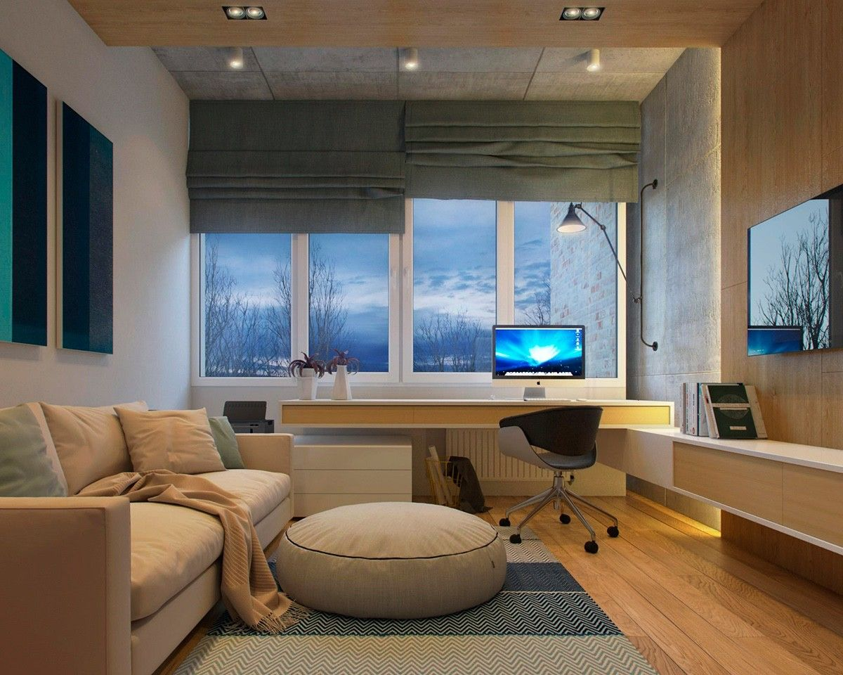 2 Modern Apartments Under 1200 Square Feet Area For Young Families Includes 3d Floor Plans Modern Apartment Design Small Apartment Interior Modern Apartment Decor