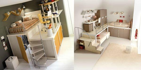 bunte tolle hochbetten f r kinder und erwachsene hervorragende schlafzimmereinrichtungen. Black Bedroom Furniture Sets. Home Design Ideas