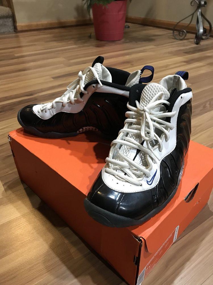 separation shoes 189d7 5a55b Kids Foamposite Sneakers Nike Size 5Y Black   White Mint Condition  fashion   clothing  shoes  accessories  kidsclothingshoesaccs  boysshoes (ebay link)