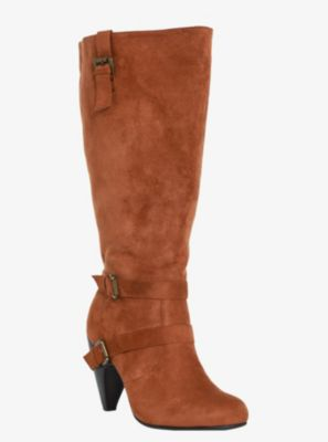 774447f876c Slouchy Suede Heeled Boots (Wide Width). Love these! Wide Calf Boots