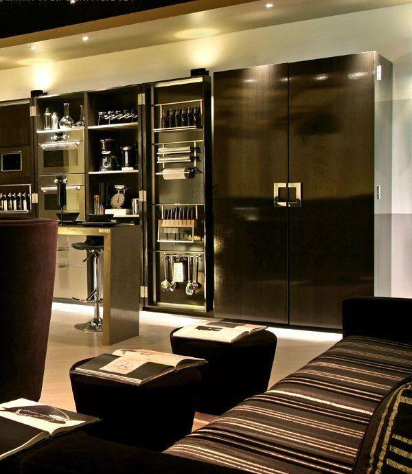 Urban Luxury Studio Apartment by Gutman+Lehrer architects ...