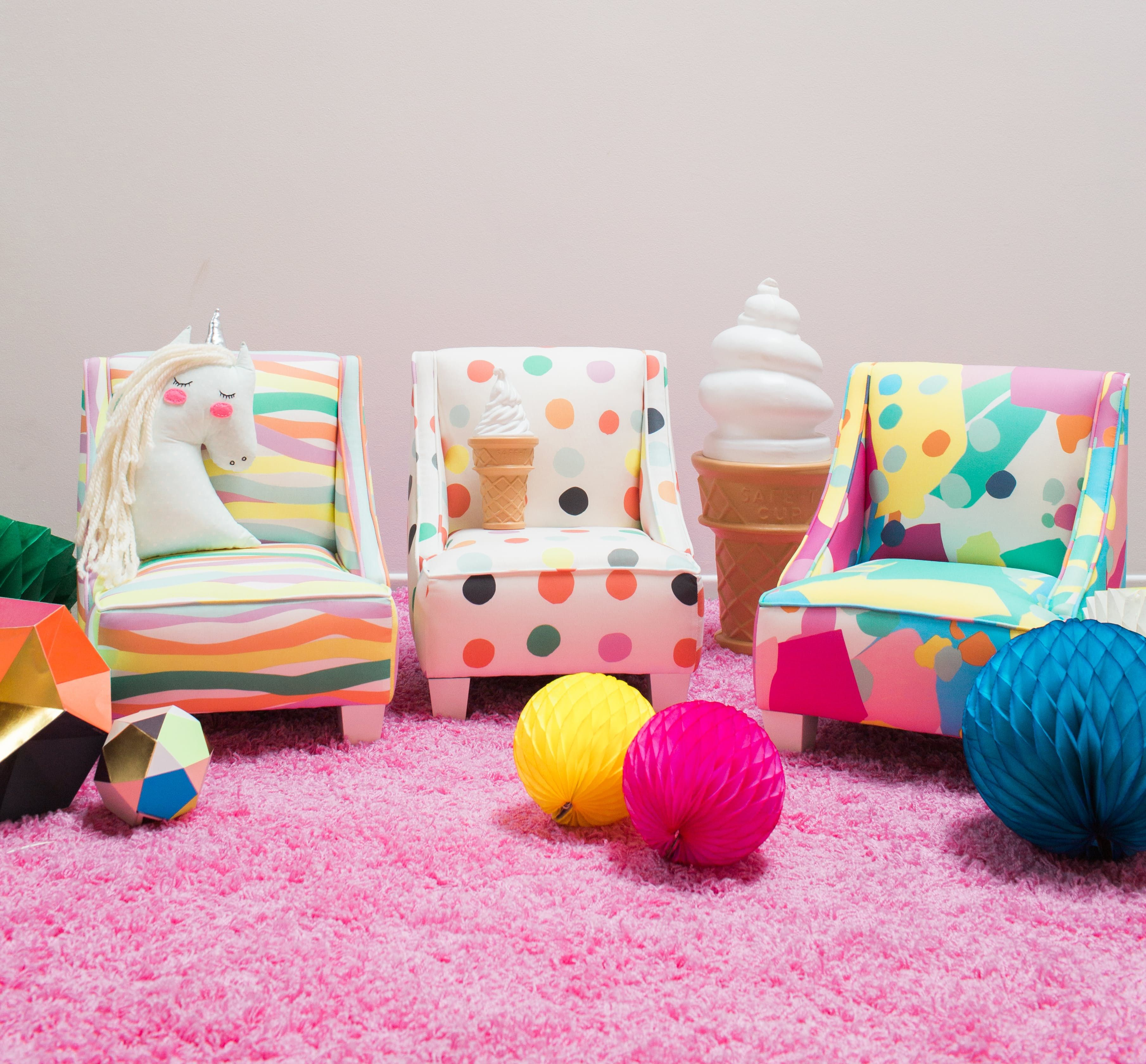 Oh Joy S Rainbow Hued Furniture Collection For Target Is Here And We Want Everything Target Furniture Colorful Furniture Furniture Collection