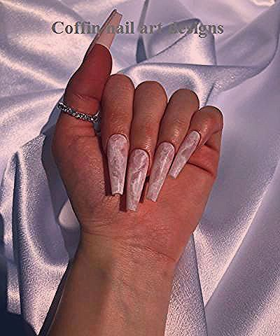 Photo of 20 TRENDY COFFIN NAIL ART DESIGNS 1
