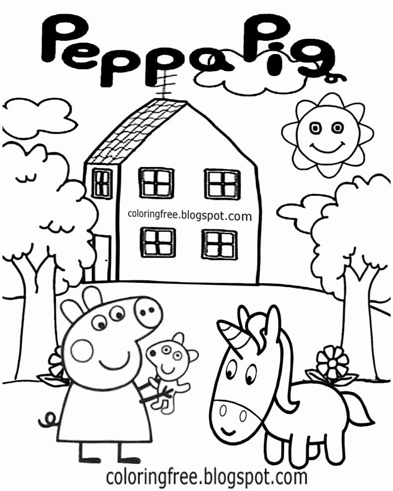 Coloring Cartoon Youtube Awesome 25 Peppa Pig Coloring Pages Line Download Coloring Shee In 2020 Peppa Pig Coloring Pages Unicorn Coloring Pages Cartoon Coloring Pages