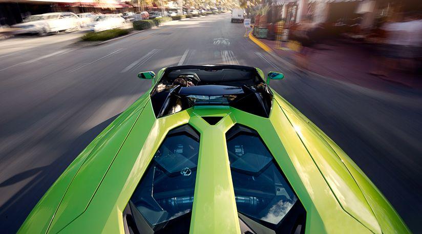 Aventador Roadster. Carabo Bertone memory revived.