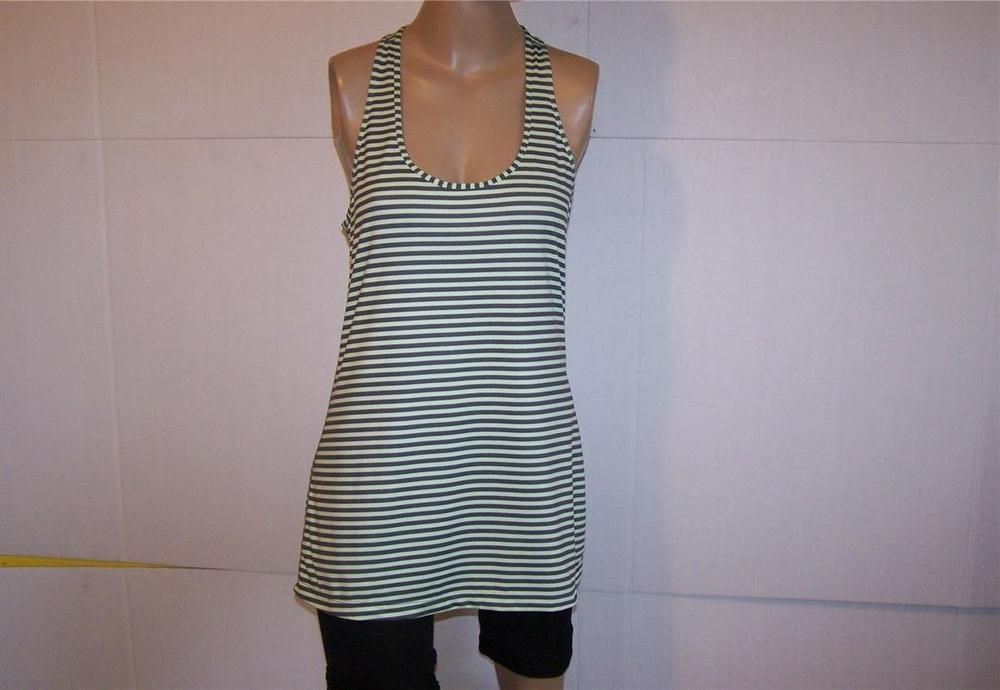 XERSION  Athletic Tank Top Sz L Racer Back Sleeveless Exercise Workout Stretch #Xersion #ShirtsTops