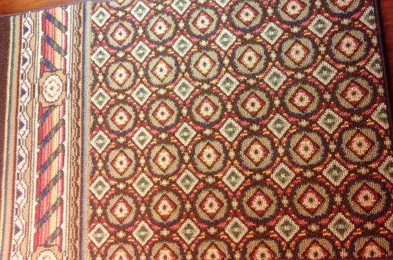 2 Vintage Schumacher Carpets Cat Dog 18 X 27 Rug Bed Mat