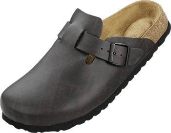 Betula ''Clog'' from Birko Flor in Cordoba Brown with a