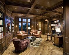 Home Office   Traditional   Home Office   Phoenix   By R.J. Gurley Custom  Homes