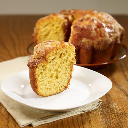 Golden Pumpkin Coffee Cake | Pumpkin coffee cakes, Coffee ...