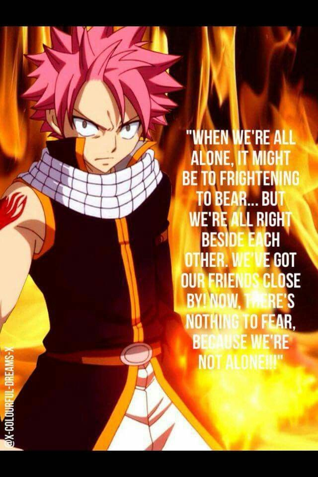 Natsu Dragneel Quote Fairy Tail Quotes Fairy Tail Anime Natsu Fairy Tail